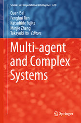 Multi-agent and Complex Systems by Quan Bai