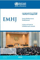 Eastern Mediterranean Health Journal  Vol. 22 No. 5  2016 by EMRO