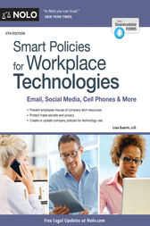 Smart Policies for Workplace Technologies by Lisa Guerin