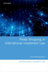Treaty Shopping in International Investment Law by Jorun Baumgartner