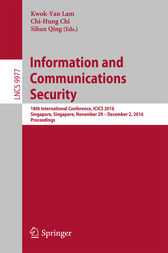 Information and Communications Security by Kwok-Yan Lam