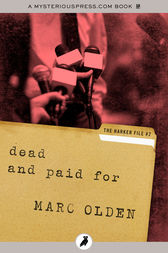 Dead and Paid For by Marc Olden