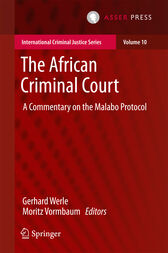 The African Criminal Court by Gerhard Werle
