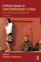 Critical Issues in Contemporary China by Czeslaw Tubilewicz