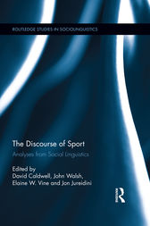 The Discourse of Sport by David Caldwell