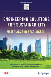 Engineering Solutions for Sustainability by Jeffrey Fergus
