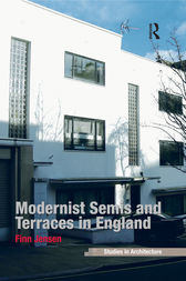 Modernist Semis and Terraces in England by Finn Jensen