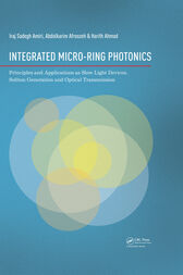 Integrated Micro-Ring Photonics by Iraj Sadegh Amiri