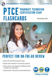 PTCE - Pharmacy Technician Certification Exam Flashcard Book + Online by Della Ata Khoury