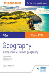 AQA Geography Student Guide: Component 2: Human Geography by David Redfern