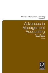 Advances in Management Accounting by Marc J. Epstein