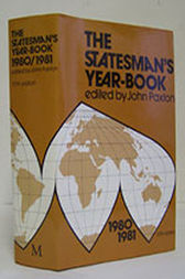 The Statesman's Year-Book 1980-81 by J. Paxton