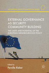 External Governance as Security Community Building by Pernille Rieker