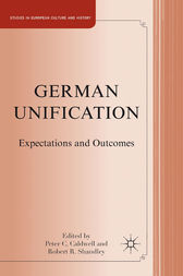 German Unification by P. Caldwell
