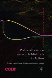 Political Science Research Methods in Action by M. Bruter