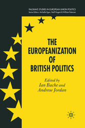 The Europeanization of British Politics by I. Bache