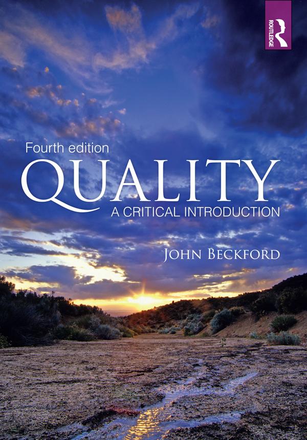 Download Ebook Quality (4th ed.) by John Beckford Pdf