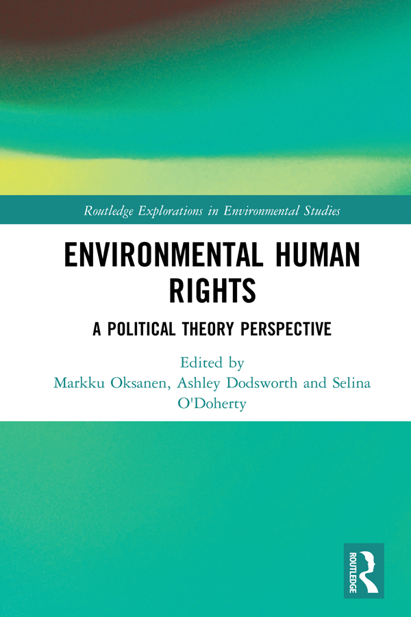 Download Ebook Environmental Human Rights by Markku Oksanen Pdf