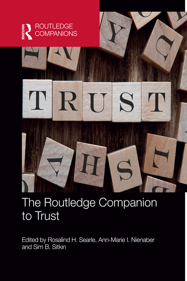 Download Ebook The Routledge Companion to Trust by Rosalind H. Searle Pdf
