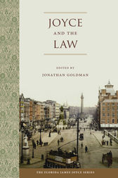 Joyce and the Law by Jonathan Goldman
