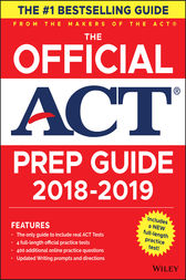 The Official ACT Prep Guide, 2018-19 Edition (Book + Bonus Online Content) by ACT