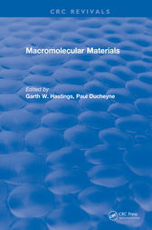Macromolecular Materials by Hastings