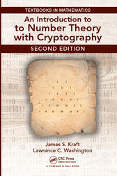 An Introduction to Number Theory with Cryptography by James Kraft