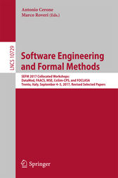 Software Engineering and Formal Methods by Antonio Cerone