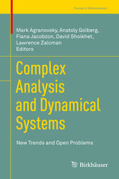 Complex Analysis and Dynamical Systems by Mark Agranovsky