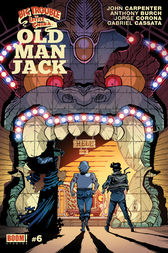 Big Trouble in Little China: Old Man Jack #6 by John Carpenter