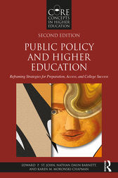 Public Policy and Higher Education by Edward P. St. John