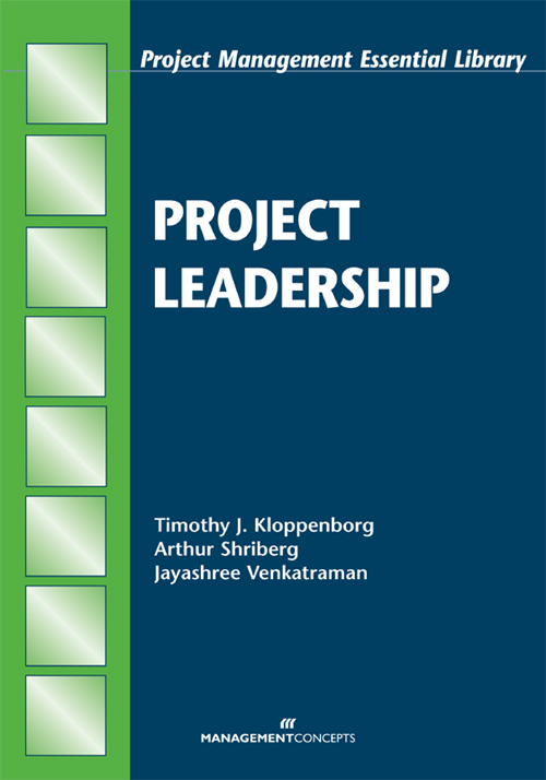 Download Ebook Project Leadership by Timothy J. Kloppenborg Pdf