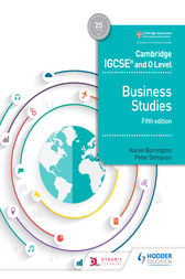 Cambridge IGCSE and O Level Business Studies 5th edition