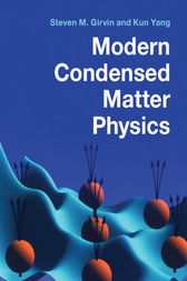 Modern Condensed Matter Physics
